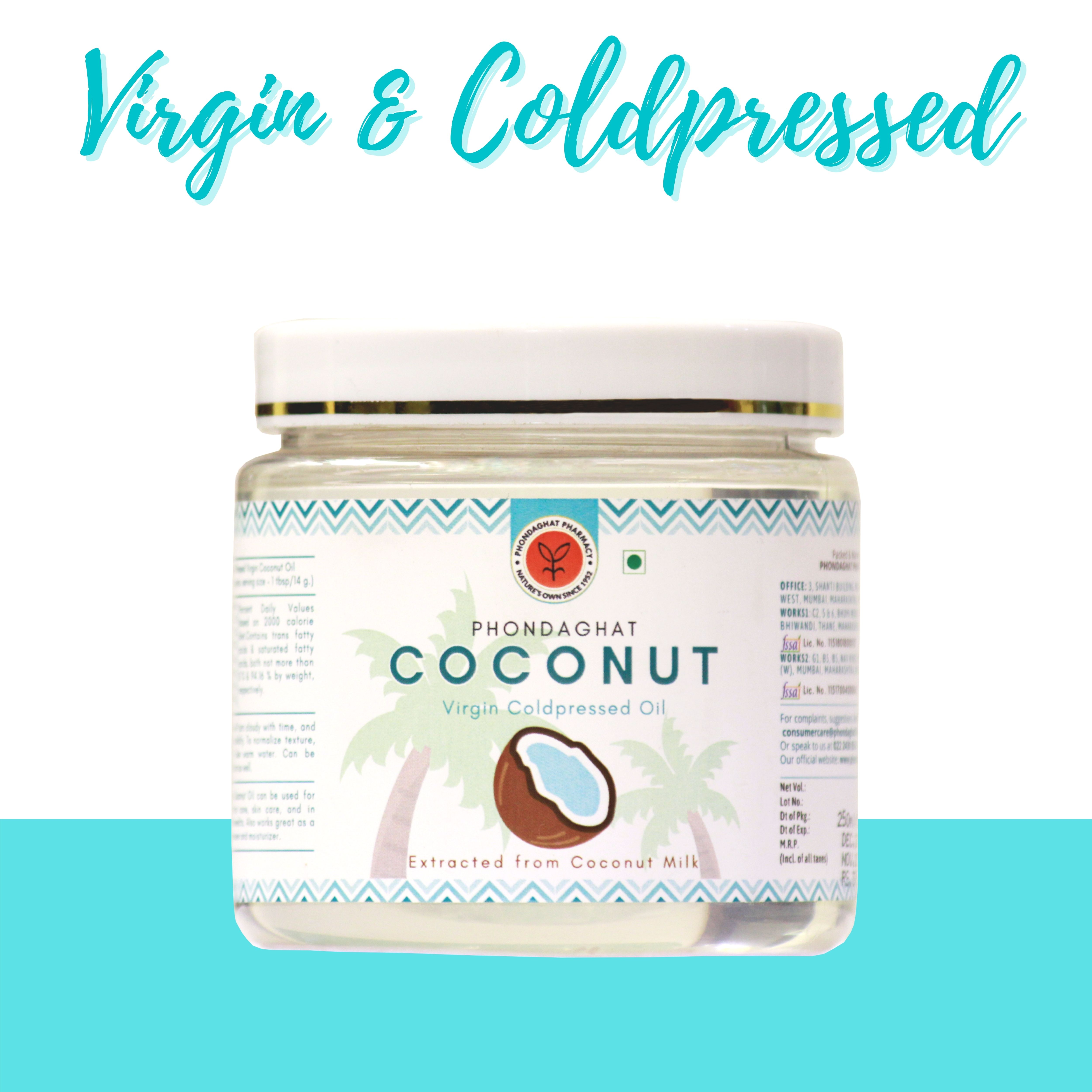 Phondaghat Cold Pressed Virgin Coconut Oil