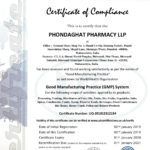 Phondaghat Pharmacy Certificate Gmp